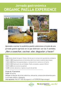 Jornada gastronómica Paella en Denia (Ecorganic)