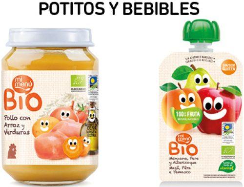 Bajamos los precios en potitos y bebibles 'Mi menú'