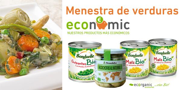 Menestra de verduras ecorganic - Menestra de verduras en texturas ...
