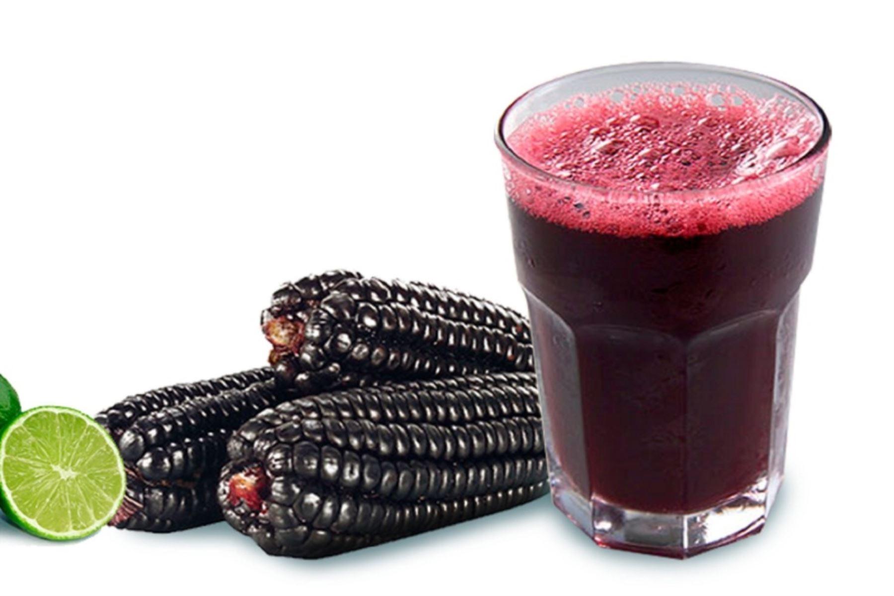 Resultado de imagen para bebida de maíz morado variedad canteño (Zea Mays L.)