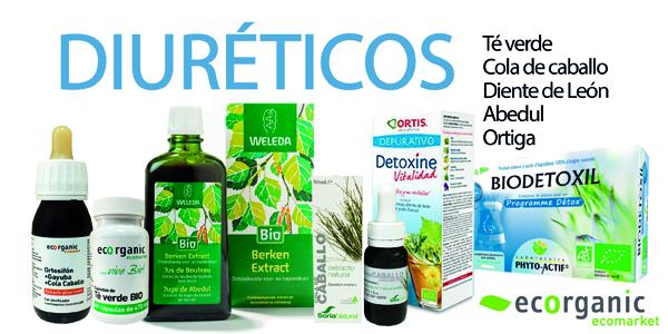 Plantas naturales diuréticas