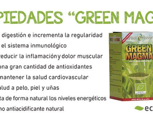 El poder del Green Magma