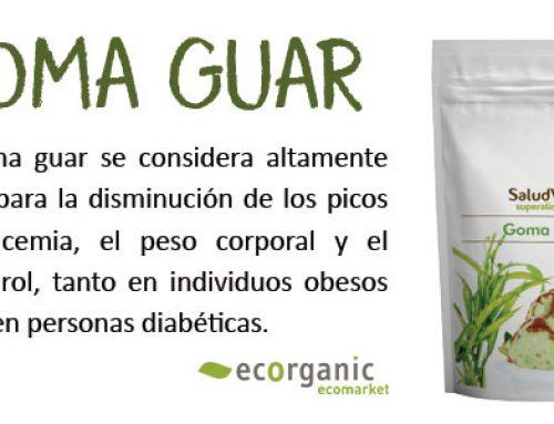 ¿Qué es la Goma Guar?