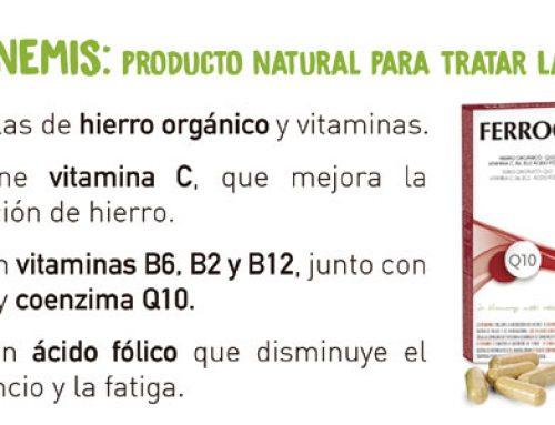 Ferronemi's Q10: producto natural para tratar la anemia