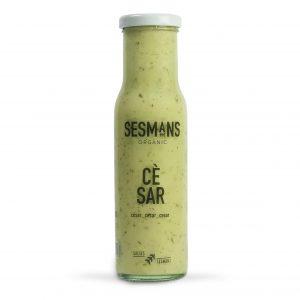 salsa ecológica y vegana cesar