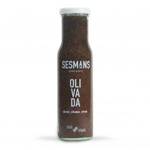 Salsa vegana y ecológica olivada
