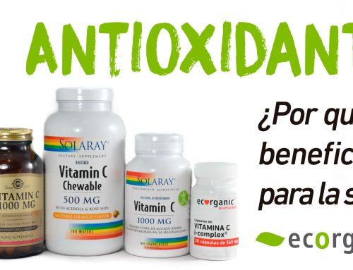10 Antioxidantes beneficiosos para la salud