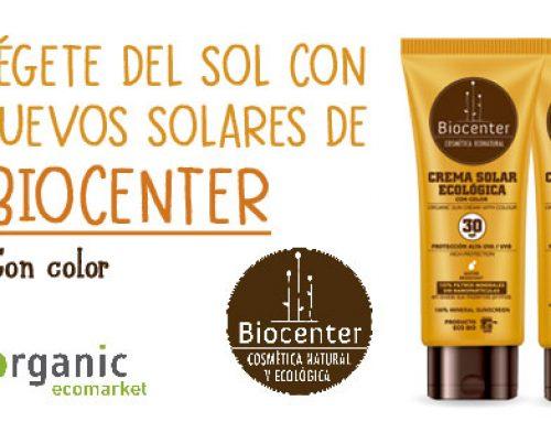 Protégete del sol con los nuevos solares de Biocenter
